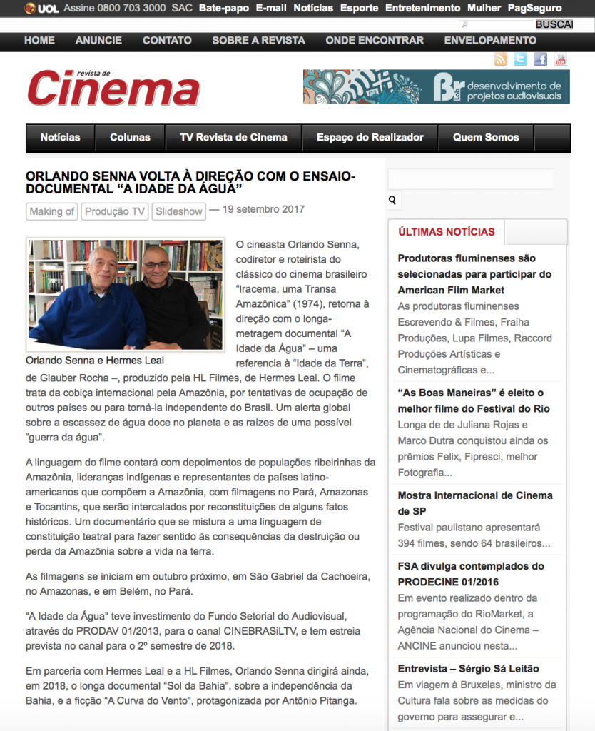RevistadeCinema
